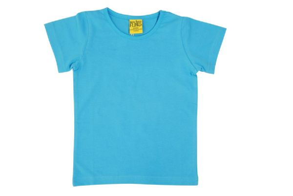 More Than a Fling MTAF Short Sleeve Top Medium Blue